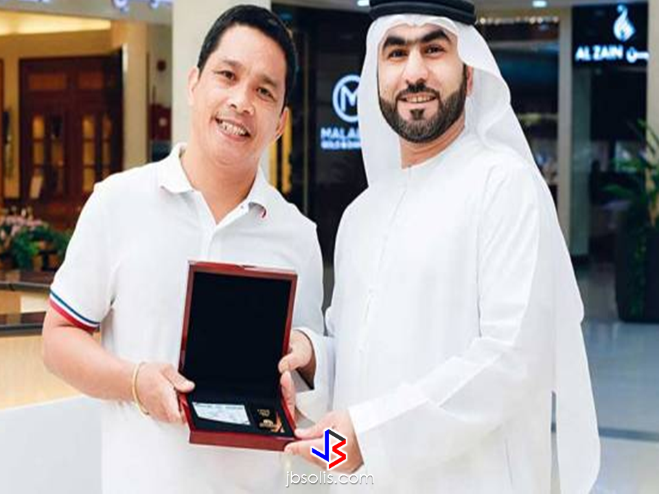 "In just a matter of days after an OFW who is working as an engineer in Dubai had won the grand prize of 1 Million Dirhams, another Dubai-based Filipino engineer won another raffle in Dubai, this time he bagged one kilo of gold worth over P2 million.  Edmundo Catangay, general technician in Ras Al Khaimah, won a kilo of gold worth Dh150,000 at a raffle held during the annual Dubai Summer Surprises (DSS) extravaganza.  Catangay, was working there for two years, recently joined a raffle at a local mall City Centre Deira and even forgot that he joined such raffle. When he received the call by the organizers, he even thought that it was a prank. You can never blame him for the emergence of scams, but this time its for real! ""Advertisements""  He got the grand prize of Majid Al Futtaim's shopping promotion during DSS that encouraged mall visitors to spend a minimum amount of 400 Dirhams for a raffle entry.  The OFW, a father of three children said that he will use his winnings to purchase a house and lot back home. Shoppers who spent at least Dh400 at any fashion outlet in the same mall also had the opportunity to win airfares for two people to visit various destinations, including Oman, Jordan, India, Sri Lanka and Lebanon. Source: Gulf News ""Sponsored Links"" Read More:  A female Overseas Filipino Worker (OFW) working in Saudi Arabia was killed by an unknown gunman in Cabatuan, Isabela on Sunday. The OFW is in the country to enjoy her vacation and to celebrate her bithday with her loved ones. The victim's mother, Betty Ordonez, said that Jenny Constantino, 29, arrived in the country from Saudi Arabia for a vacation.         China's plans to hire Filipino household workers to their five major cities including Beijing and Shanghai, was reported at a local newspaper Philippine Star. it could be a big break for the household workers who are trying their luck in finding greener pastures by working overseas  China is offering up to P100,000  a month, or about HK$15,000. The existing minimum allowable wage for a foreign domestic helper in Hong Kong is  around HK$4,310 per month.  Dominador Say, undersecretary of the Department of Labor and Employment (DOLE), said that talks are underway with Chinese embassy officials on this possibility. China's five major cities, including Beijing, Shanghai and Xiamen will soon be the haven for Filipino domestic workers who are seeking higher income.  DOLE is expected to have further negotiations on the launch date with a delegation from China in September.   according to Usec Say, Chinese employers favor Filipino domestic workers for their English proficiency, which allows them to teach their employers' children.    Chinese embassy officials also mentioned that improving ties with the leadership of President Rodrigo Duterte has paved the way for the new policy to materialize.  There is presently a strict work visa system for foreign workers who want to enter mainland China. But according Usec. Say, China is serious about the proposal.   Philippine Labor Secretary Silvestre Bello said an estimated 200,000 Filipino domestic helpers are  presently working illegally in China. With a great demand for skilled domestic workers, Filipino OFWs would have an option to apply using legal processes on their desired higher salary for their sector. Source: ejinsight.com, PhilStar Read More:  The effectivity of the Nationwide Smoking Ban or  E.O. 26 (Providing for the Establishment of Smoke-free Environment in Public and Enclosed Places) started today, July 23, but only a few seems to be aware of it.  President Rodrigo Duterte signed the Executive Order 26 with the citizens health in mind. Presidential Spokesperson Ernesto Abella said the executive order is a milestone where the government prioritize public health protection.    The smoking ban includes smoking in places such as  schools, universities and colleges, playgrounds, restaurants and food preparation areas, basketball courts, stairwells, health centers, clinics, public and private hospitals, hotels, malls, elevators, taxis, buses, public utility jeepneys, ships, tricycles, trains, airplanes, and  gas stations which are prone to combustion. The Department of Health  urges all the establishments to post ""no smoking"" signs in compliance with the new executive order. They also appeal to the public to report any violation against the nationwide ban on smoking in public places.   Read More:          ©2017 THOUGHTSKOTO www.jbsolis.com SEARCH JBSOLIS, TYPE KEYWORDS and TITLE OF ARTICLE at the box below Smoking is only allowed in designated smoking areas to be provided by the owner of the establishment. Smoking in private vehicles parked in public areas is also prohibited. What Do You Need To know About The Nationwide Smoking Ban Violators will be fined P500 to P10,000, depending on their number of offenses, while owners of establishments caught violating the EO will face a fine of P5,000 or imprisonment of not more than 30 days. The Department of Health  urges all the establishments to post ""no smoking"" signs in compliance with the new executive order. They also appeal to the public to report any violation against the nationwide ban on smoking in public places.          ©2017 THOUGHTSKOTO Dominador Say, undersecretary of the Department of Labor and Employment (DOLE), said that talks are underway with Chinese embassy officials on this possibility. China's five major cities, including Beijing, Shanghai and Xiamen will soon be the destination for Filipino domestic workers who are seeking higher income. ©2017 THOUGHTSKOTO"