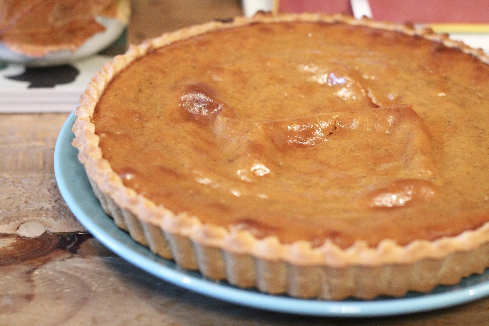 Pumpkin pie recipe easy uk