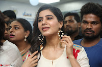 Samantha Ruth Prabhu Smiling Beauty in White Dress Launches VCare Clinic 15 June 2017 056.JPG