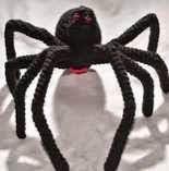 araña, spider, amigurumi