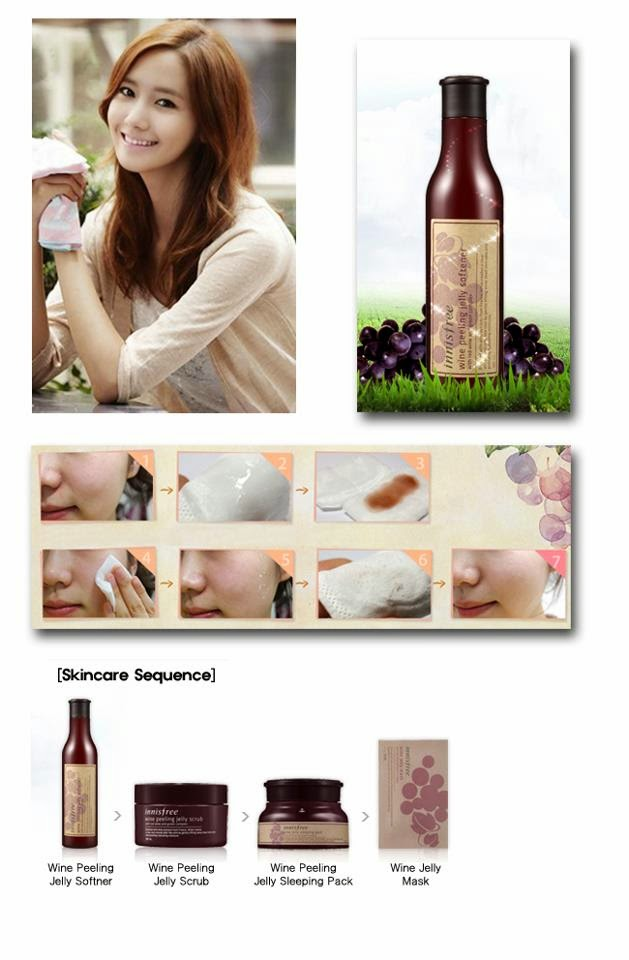 Innisfree Wine Peeling Jelly Softener