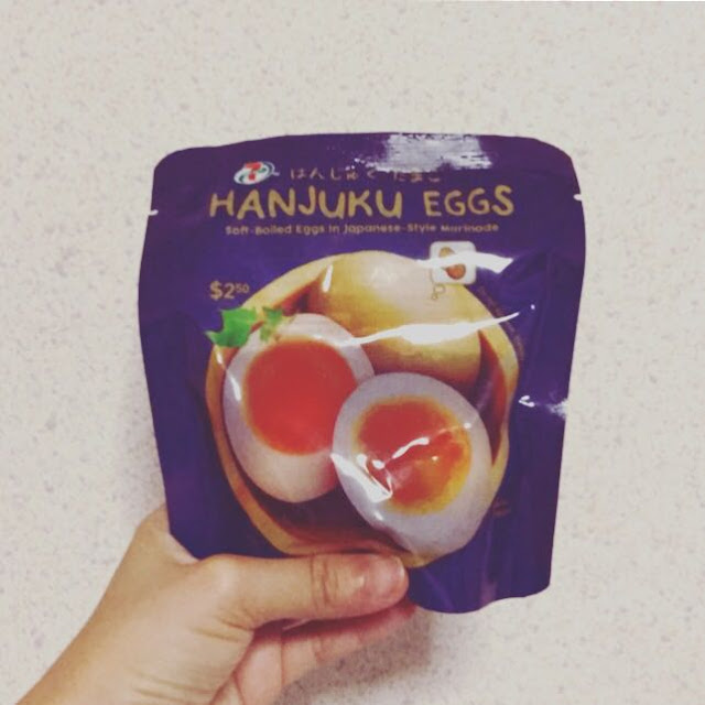 Review: Hanjuku Eggs by 7Eleven
