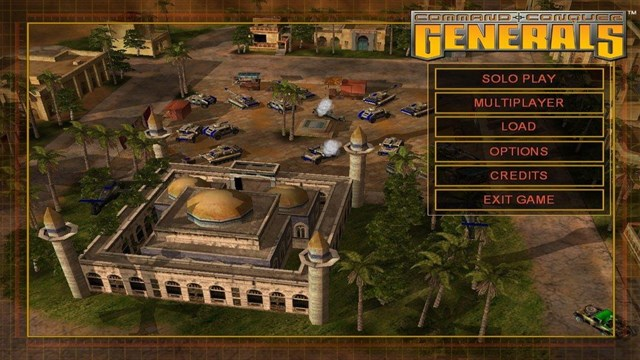 Download Command and Conquer Generals PC Games