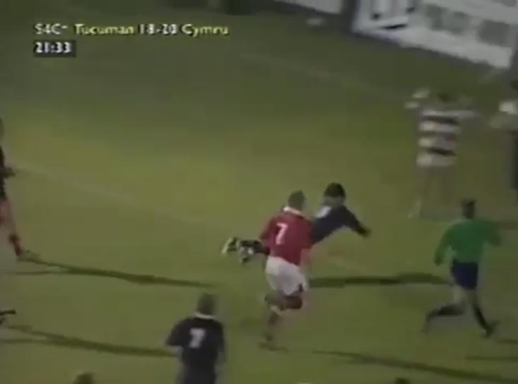 Try de Leonardo Gravano ante Gales #URT