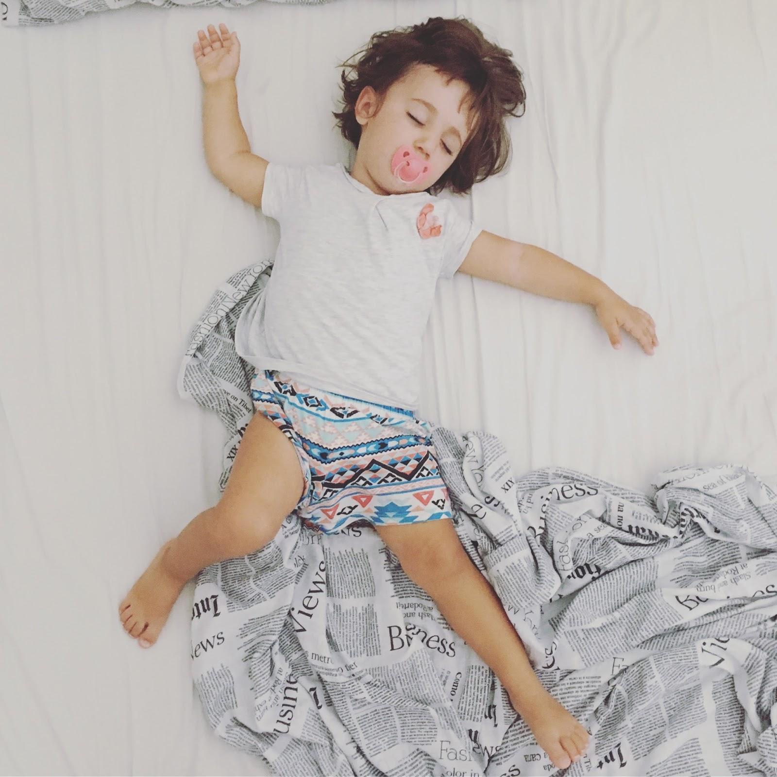 A Dormire Estivill verdeacqua: prima o poi si dorme.