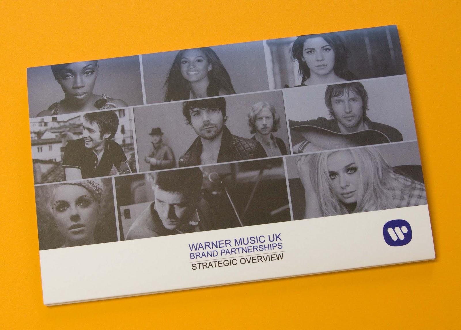 Justin's Amazing World At Fenner Paper: Warner Music