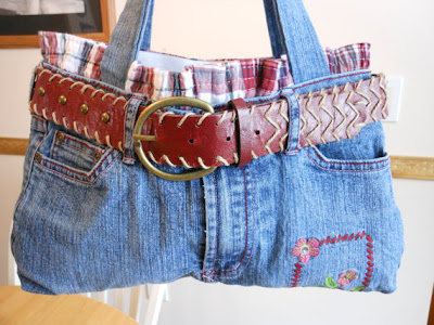 Cool Ways To Reuse Old Denim (30) 10