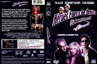 Carátula dvd: Héroes Fuera de órbita - DescargaCineClasico.Net