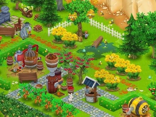 Hay Day Farm Design