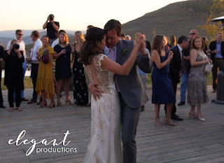 Outdoors First Dance, Colorado Mountain Weddings