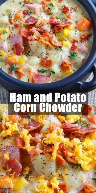 Delicious Ham and Potato Corn Chowder