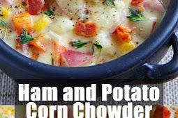 Delicious Ham and Potato Corn Chowder