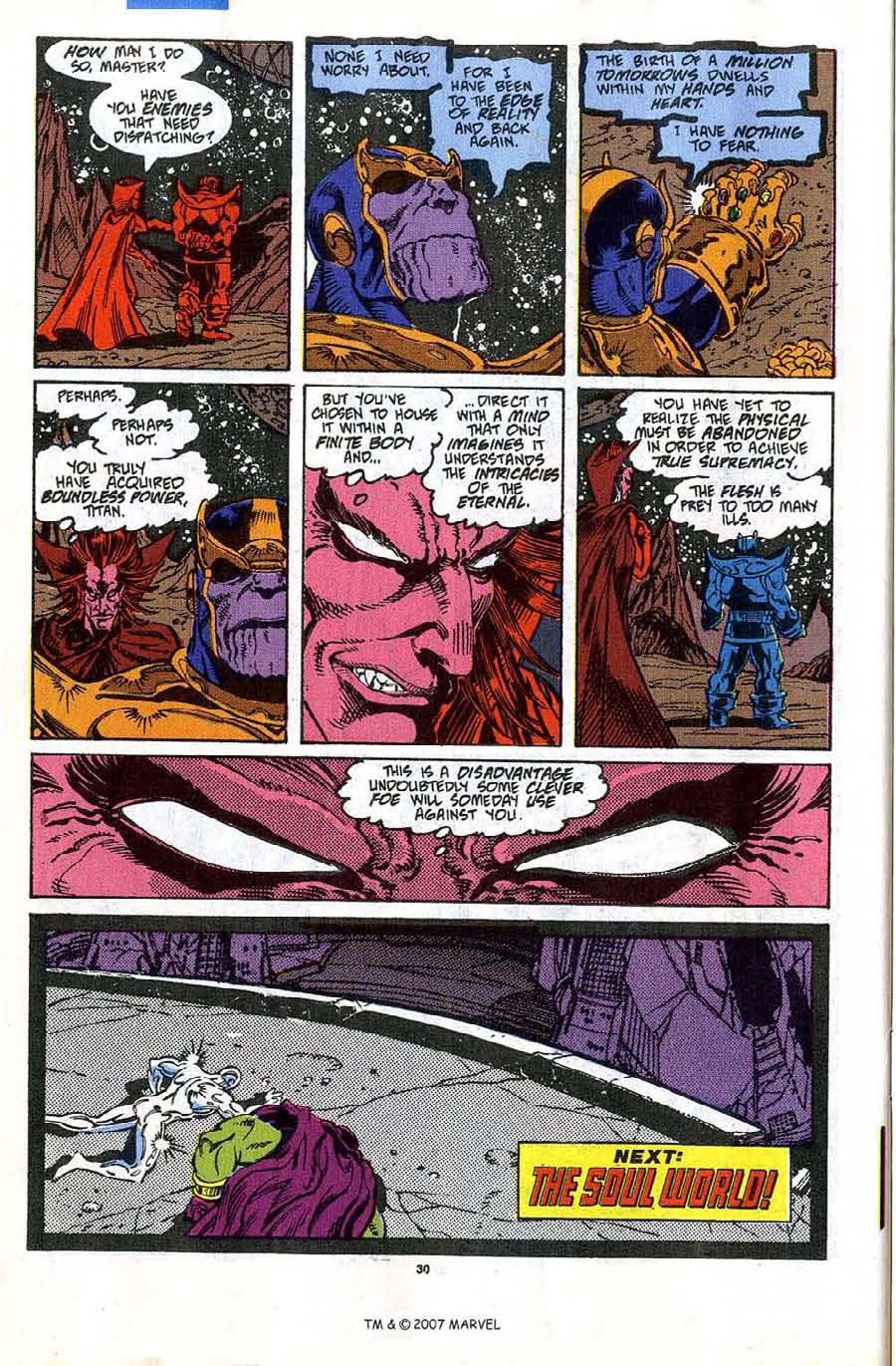 Read online Silver Surfer (1987) comic -  Issue #45 - 32