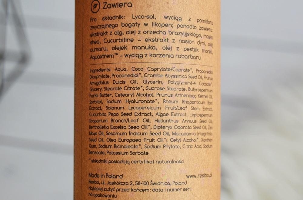 Resibo - Serum naturalnie wygładzające i krem odżywczy - Moje wrażenia po 3 miesiącach używania