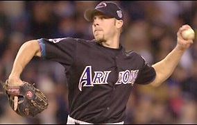 Brian Anderson in Arizona Diamondbacks uniform