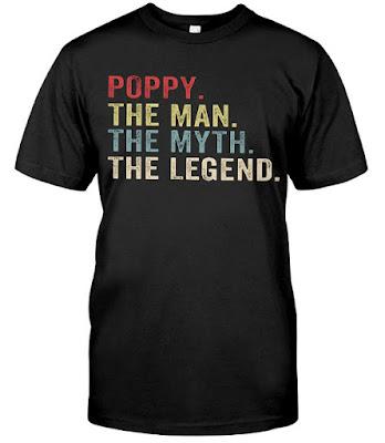 Poppy The Man The Myth The Legend T Shirt Hoodie Sweatshirt Sweater Tank Tops. GET IT HERE