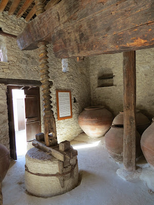 Cyprus Road Trip: historic wine making equipment in Laneia village