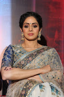Sri Devi in designer saree stunning beauty at the launch of MOM movie Trailer~  Exclusive 087.JPG