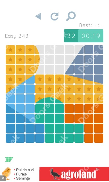 Cheats, Walkthrough for Blocks and Shapes Level 243