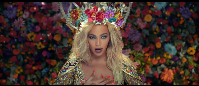 Beyonce's Metal Crown