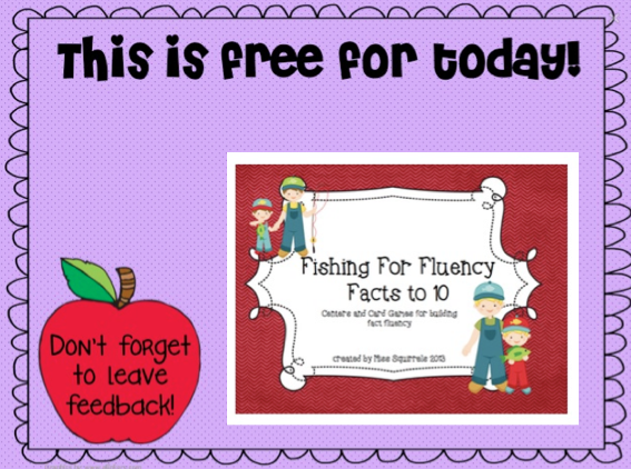 http://www.teacherspayteachers.com/Product/Fishing-for-Fluency-Facts-to-10-638620