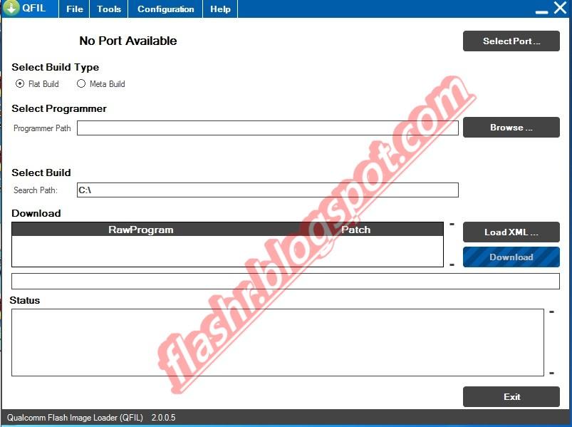 Cara Flash Menggunakan Qfil - Flazhr | Free Official Firmware