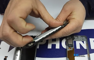 Buka baterai tanam samsung