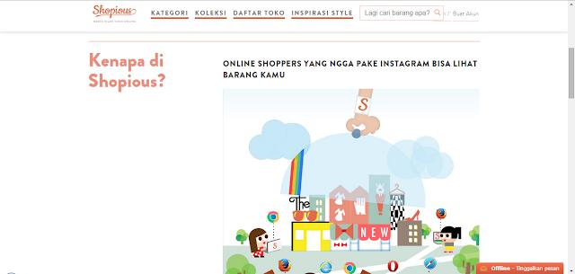 Shopious: Media Iklan Toko Online