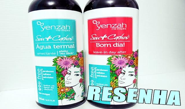Yenzah, Linha sou mais cachos, Resenha