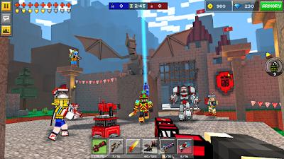 Tampilan Game Pixel Gun 3D (Pocket Edition)