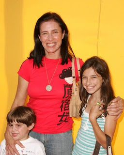 Image: Mimi Rogers and son and daughter on Hollywood.com