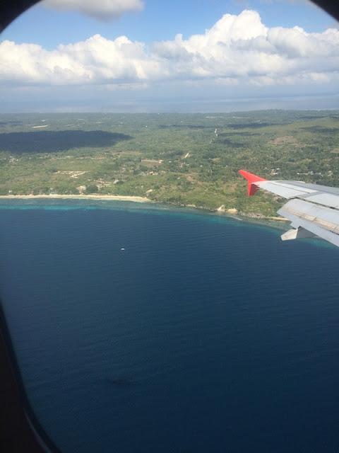 BOHOL : Bohol vue d'avion / Philippines : 3 jours à BOHOL / www.by-laura.fr