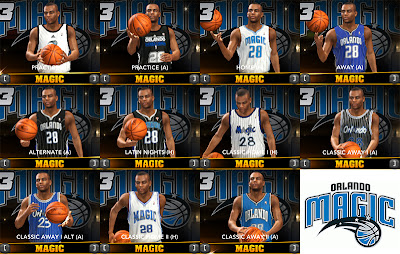 NBA 2K13 Orlando Magic Jersey Pack Patch