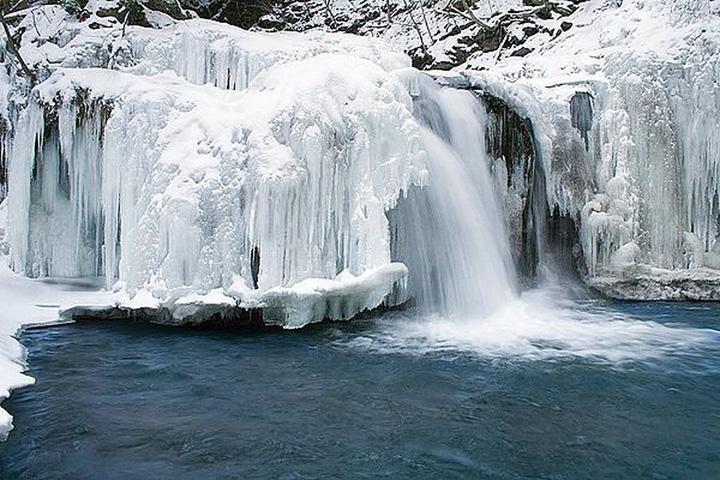 buz gibi şelale resimleri