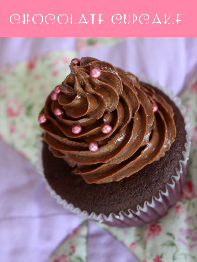 Recipe for The Best Chocolate Cupcake EVER - via BirdsParty.com
