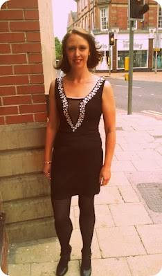 Love My New Sparkly Party Dress That I Won On Twitter