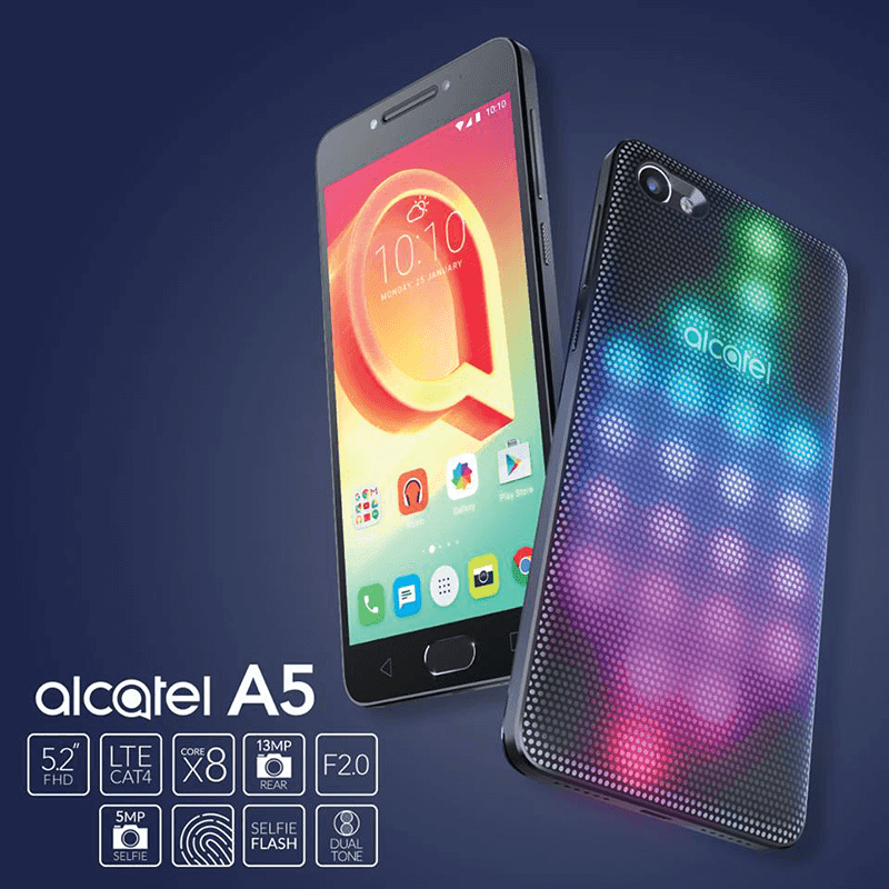Alcatel A5 LED is priced at PHP 11,999
