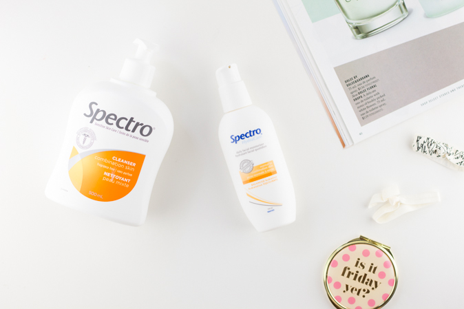 spectro combination skin cleanser and moisturizer review