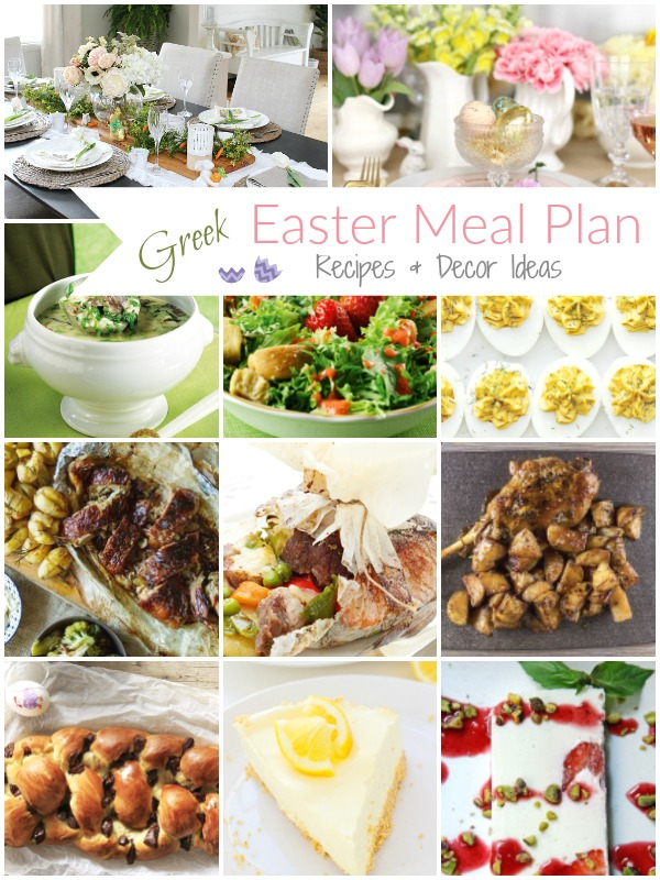Easter Menu Plan (Recipes & Decor Ideas) - Ioanna's Notebook