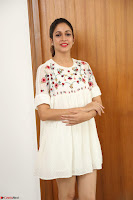 Lavanya Tripathi in Summer Style Spicy Short White Dress at her Interview  Exclusive 298.JPG