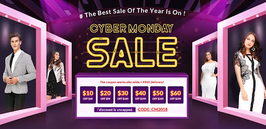 CYBER MONDAY SALE DRESSLILY