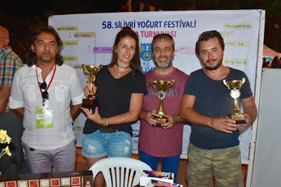 Silivri Yoğurt Festivali Tavla Turnuvası Sona Erdi