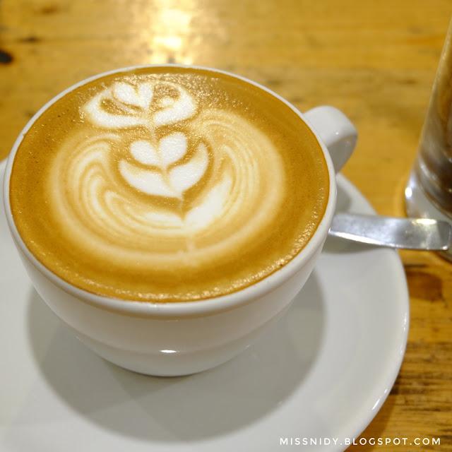 menu kopi di saudagar kopi