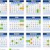 Kalender, Cuti Umum dan Cuti Negeri di Malaysia 2018