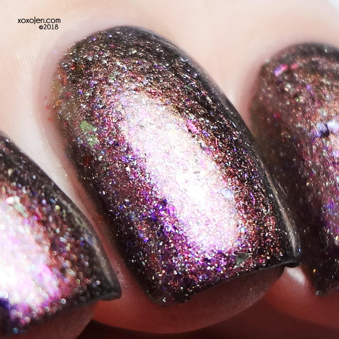 xoxoJen's swatch of Ms Sparkle An Ode to Lisa Frank