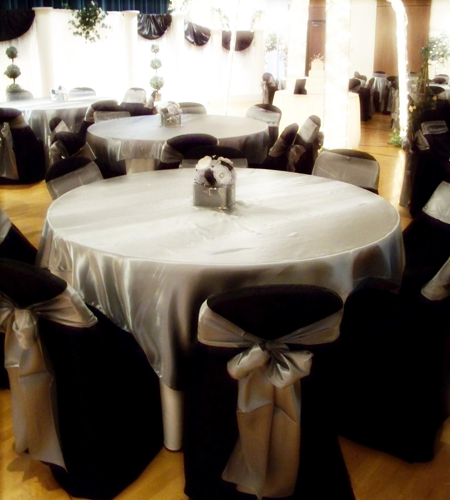 Silver Wedding Decorations: Runaway Bridal Planner: Black, White And Silver Wedding