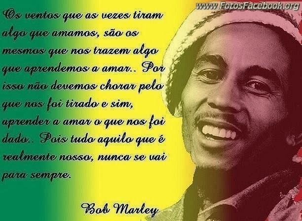 Frases De Bob Marley Para Facebook Imagui
