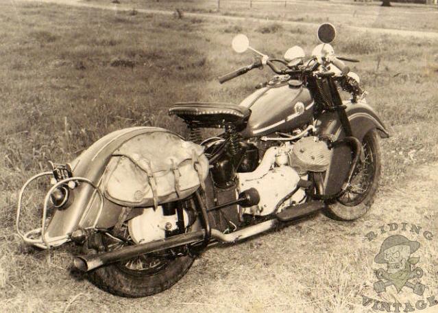 Indian 841 ~ Riding Vintage