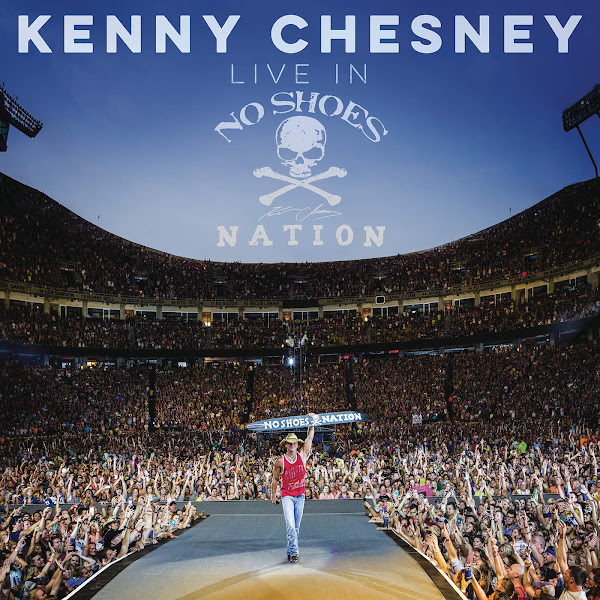 Kenny Chesney - Live in No Shoes Nation Cover
