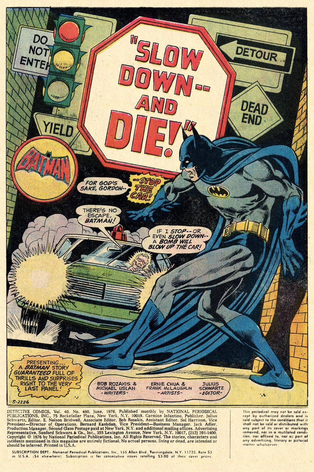 Detective Comics (1937) 460 Page 2